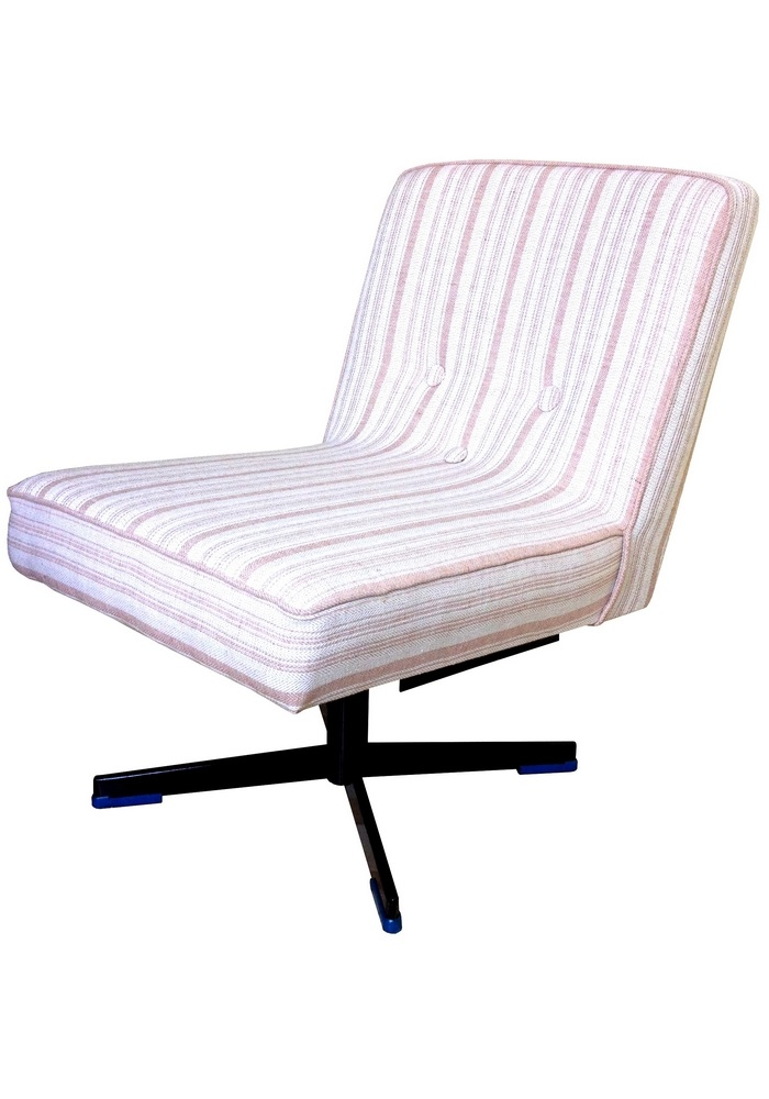 Fotel tapicerowany, obrotowy typ 1741-214