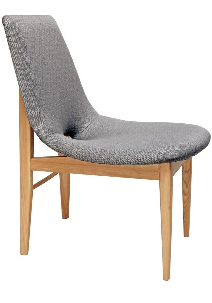 Krzesło tapicerowane Muszla