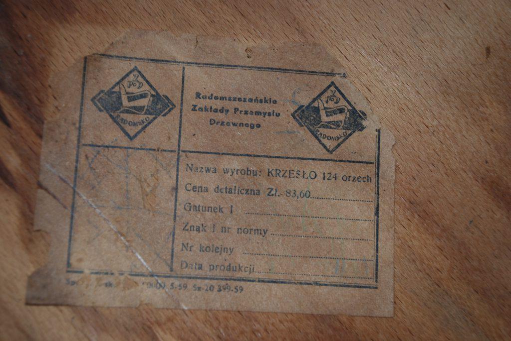 Krzesło nr 124 Serduszko