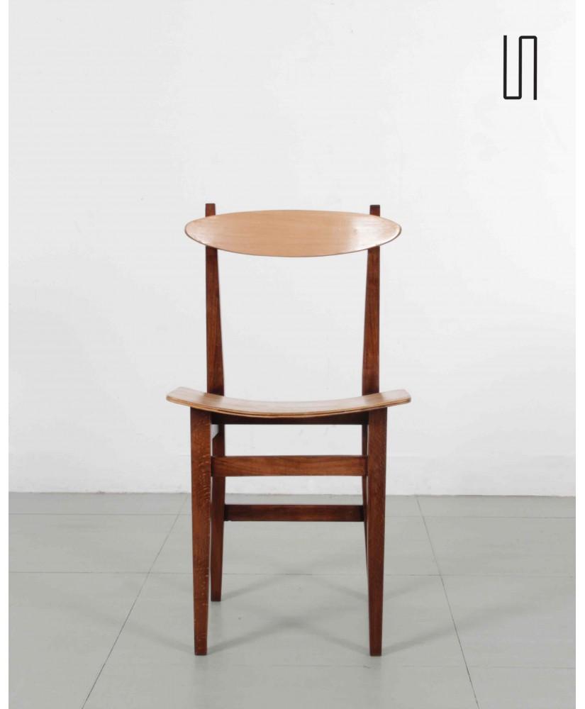Krzesło stolarskie typ 200-102 proj. Maria Chomentowska