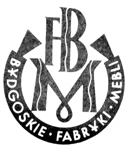 Vademetykieta- Bydgoskie Fabryki Mebli- etykieta