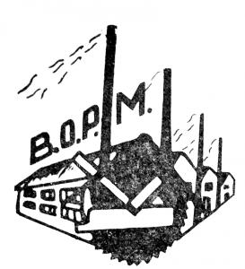 Vademetykieta- Bytomski Ośrodek Przemysłu Meblarskiego, logo