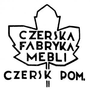 Vademetykieta- Czerska Fabryka Mebli- etykieta