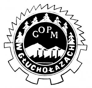 Vademetykieta- Głuchołaski Ośrodek Przemysłu Meblarskiego, logo