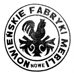 Vademetykieta- Nowieńskie Fabryki Mebli, emblemat