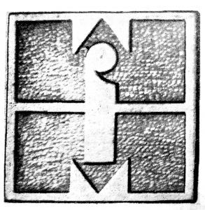 Vademetykieta- Warszawskie Fabryki Mebli, emblemat