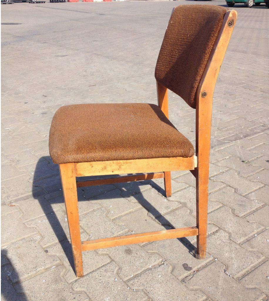 Krzesło tapicerowane PRL typ 200-213