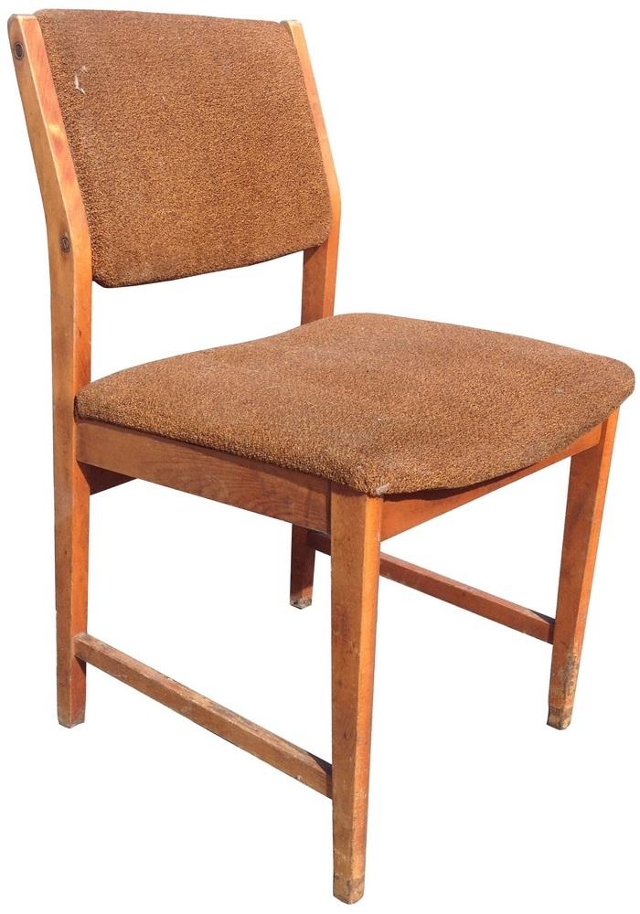 Krzesło tapicerowane typ 200-213, meble PRL
