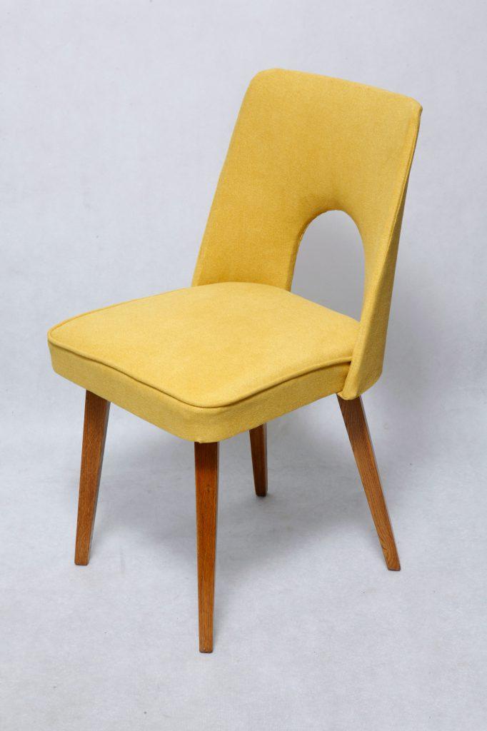 Krzesło tapicerowane typ 1020 muszelka