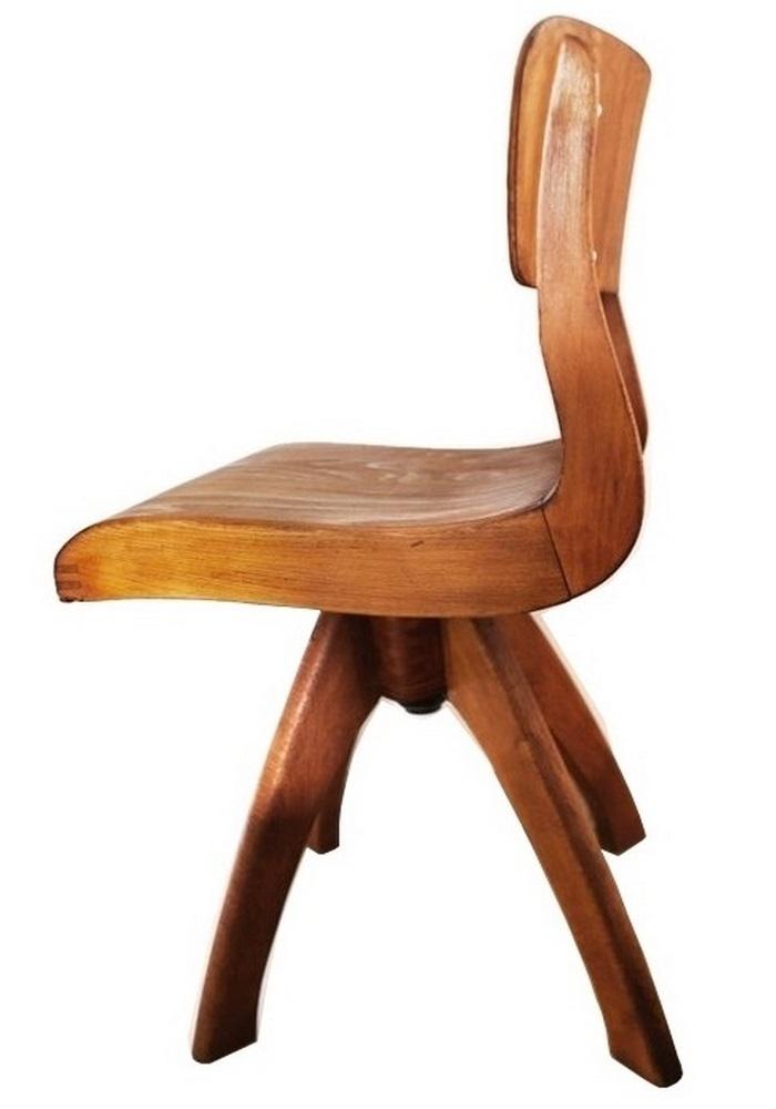 Krzesło stolarskie obrotowe szkolne Casala Drehstuhl