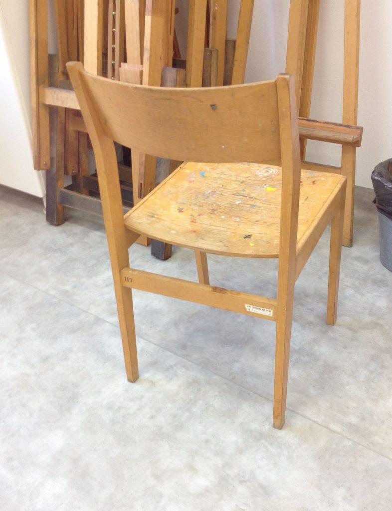 Krzesło stolarskie typ GFM, Sędziszowskie Fabryki Mebli