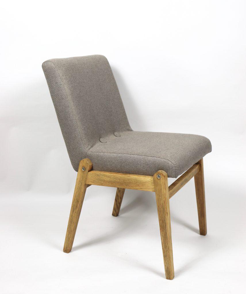 Krzesło tapicerowane / fotelik typ Kudowa III, Cepelia