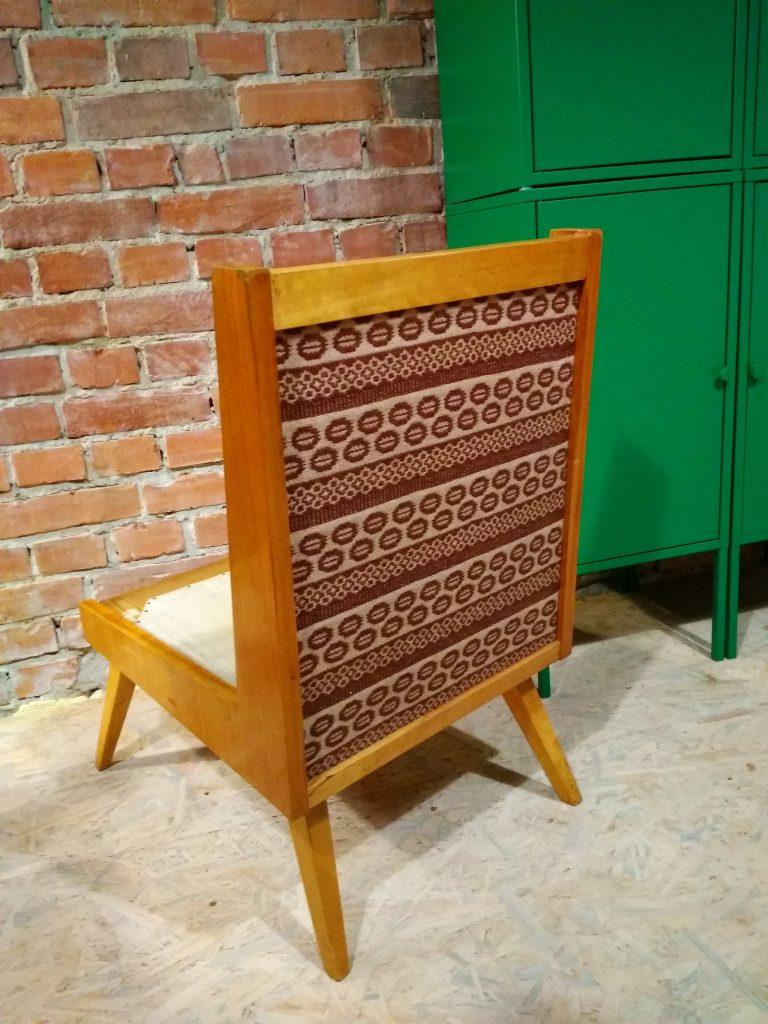 Fotel tapicerowany lekki typ 1326, Lejkowski - Leśniewski