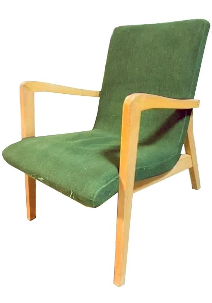 Fotel typ 300-138, prod. Bystrzyckie Fabryki Mebli, 1962
