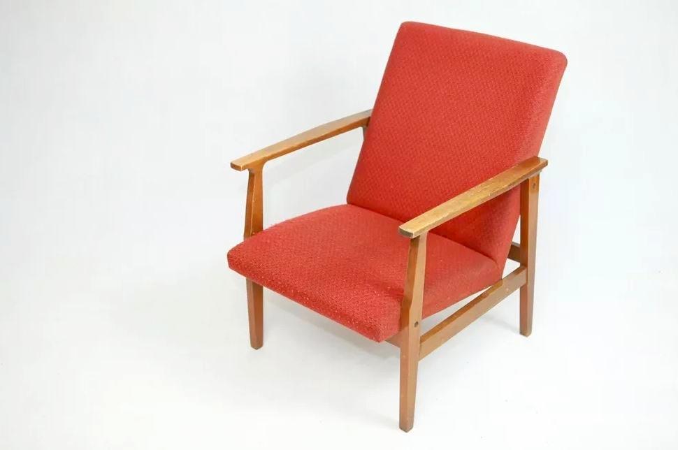 Fotel BW-14 typ 300-199, Głuchołaskie Fabryki Mebli