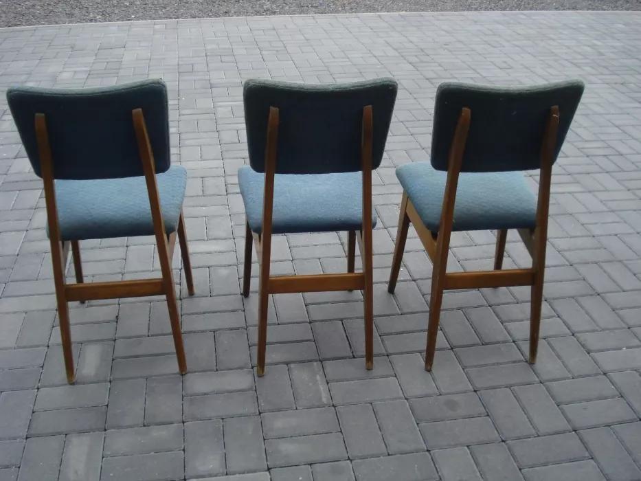Krzesła typ 200-178, prod. Bytomskie Fabryki Mebli
