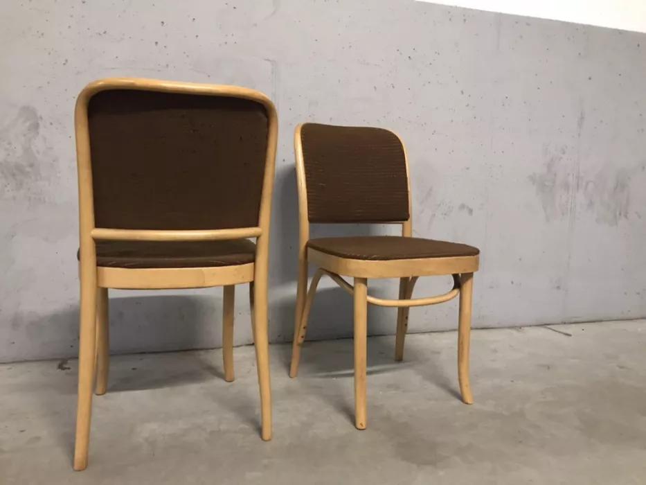 """Krzesło tapicerowane typ 811, prod. Fabryka Mebli w Jasienicy """"Jafameg"""""""