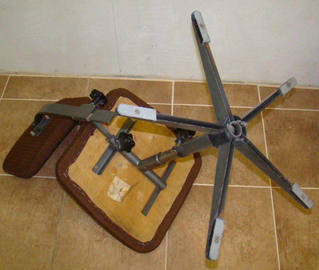Fotel obrotowy typ M/B, prod. Spółdzielnia Inwalidów Metalowiec