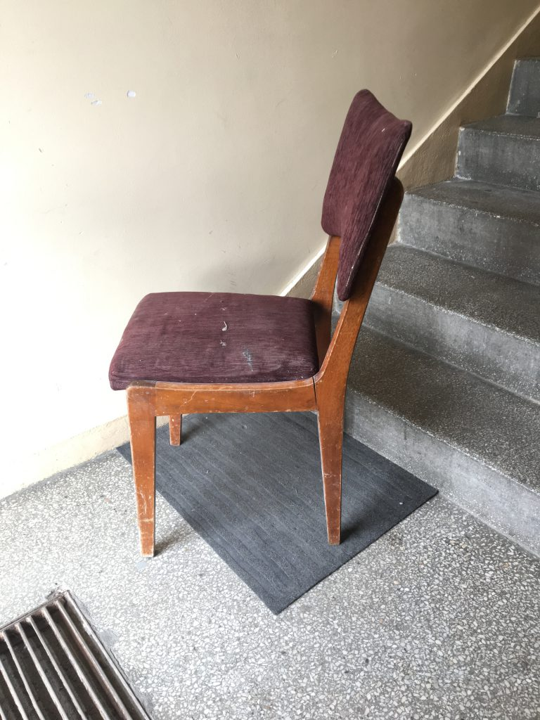 Krzesło typ 296, proj. Rajmund Teofil Hałas
