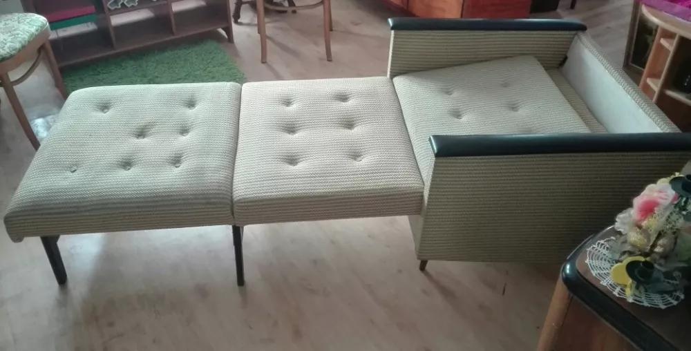 Fotel PRL Łódzkie Fabryki Mebli