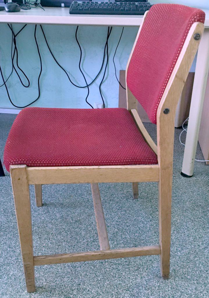Krzesło typ 200-184 B prod. Swarzędzkie Fabryki Mebli