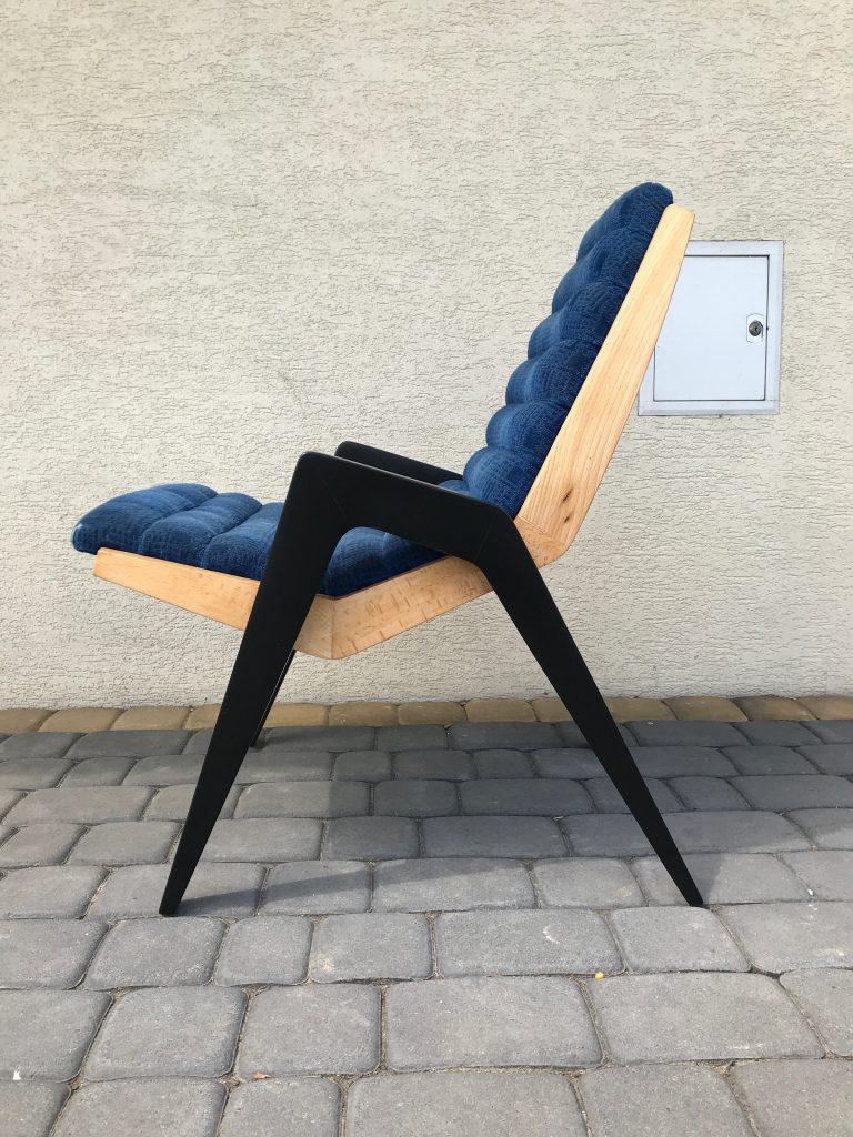 Fotel typ Lębork prod. Lęborskie Zakłady Przemysłu Terenowego