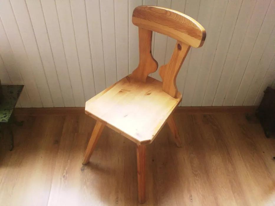 Krzesło Pinus prod. Czerskie Fabryki Mebli