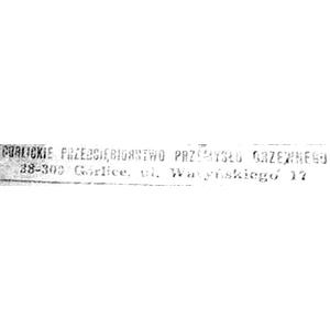 Gorlickie Przedsiębiorstwo Przemysłu Drzewnego