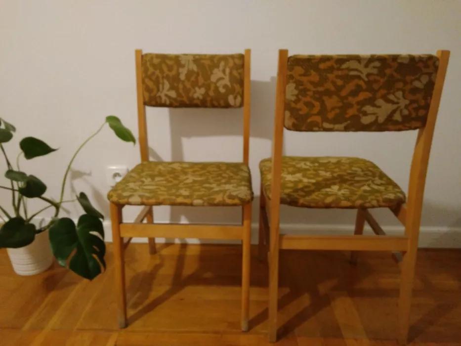 Krzesło typ SR-8 prod. Spółdzielnia Pracy Przemysłu Drzewnego CZYN