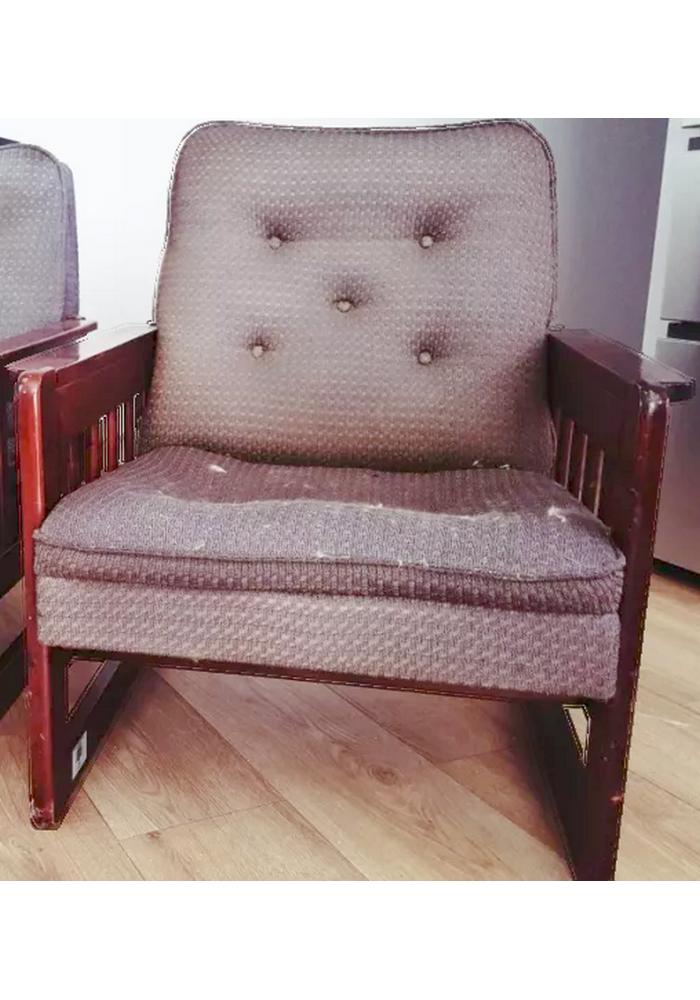 Fotel typ Artur prod. Gościcińska Fabryka Mebli, 1986-