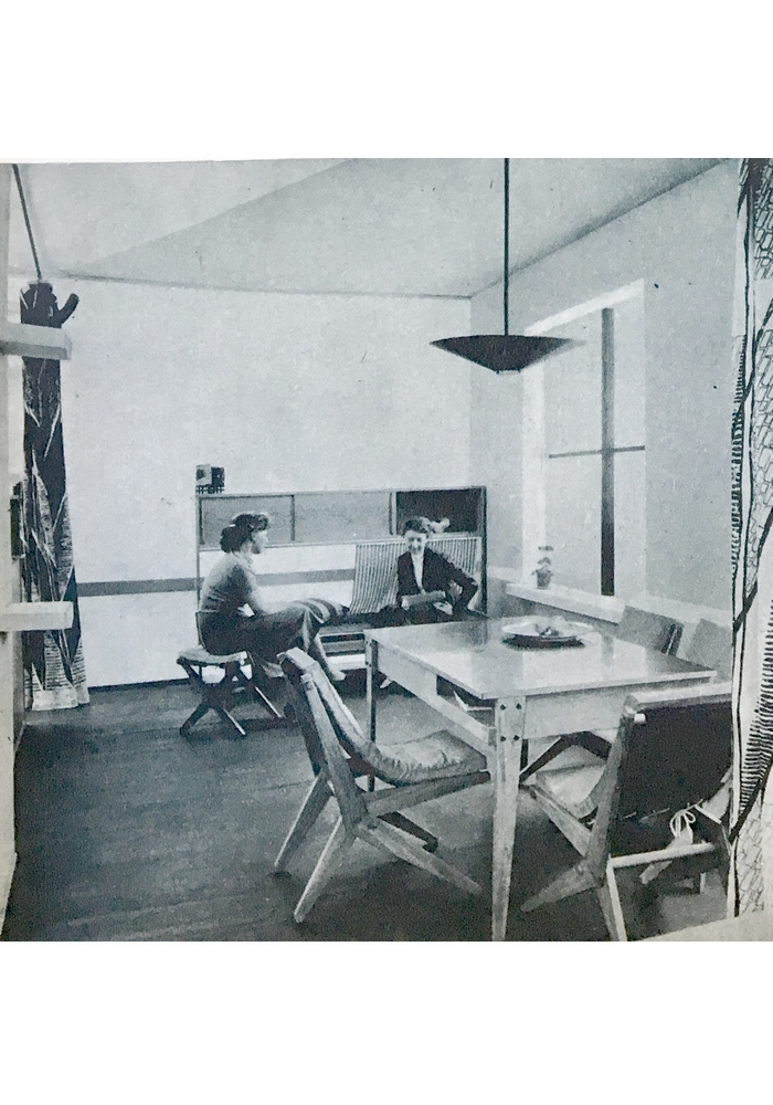 Krzesło proj. Zofii i Oskara Hansenów, Wystawa Architektury Wnętrz 1957