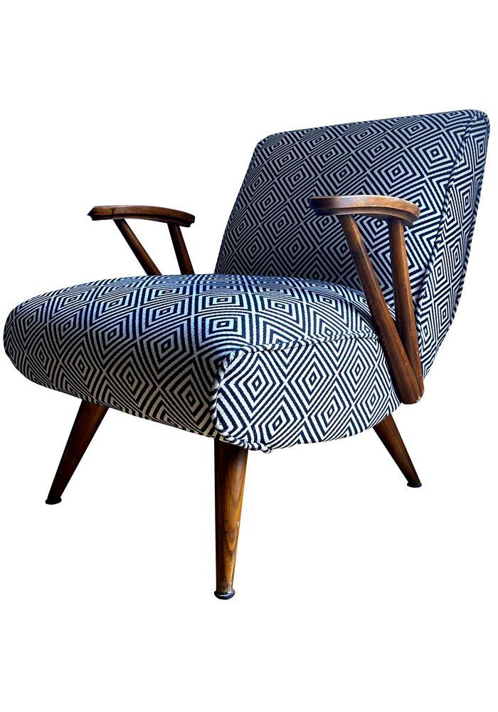 Fotel modułowy tapicerowany typ 300-110 prod. Gościcińska Fabryka Mebli