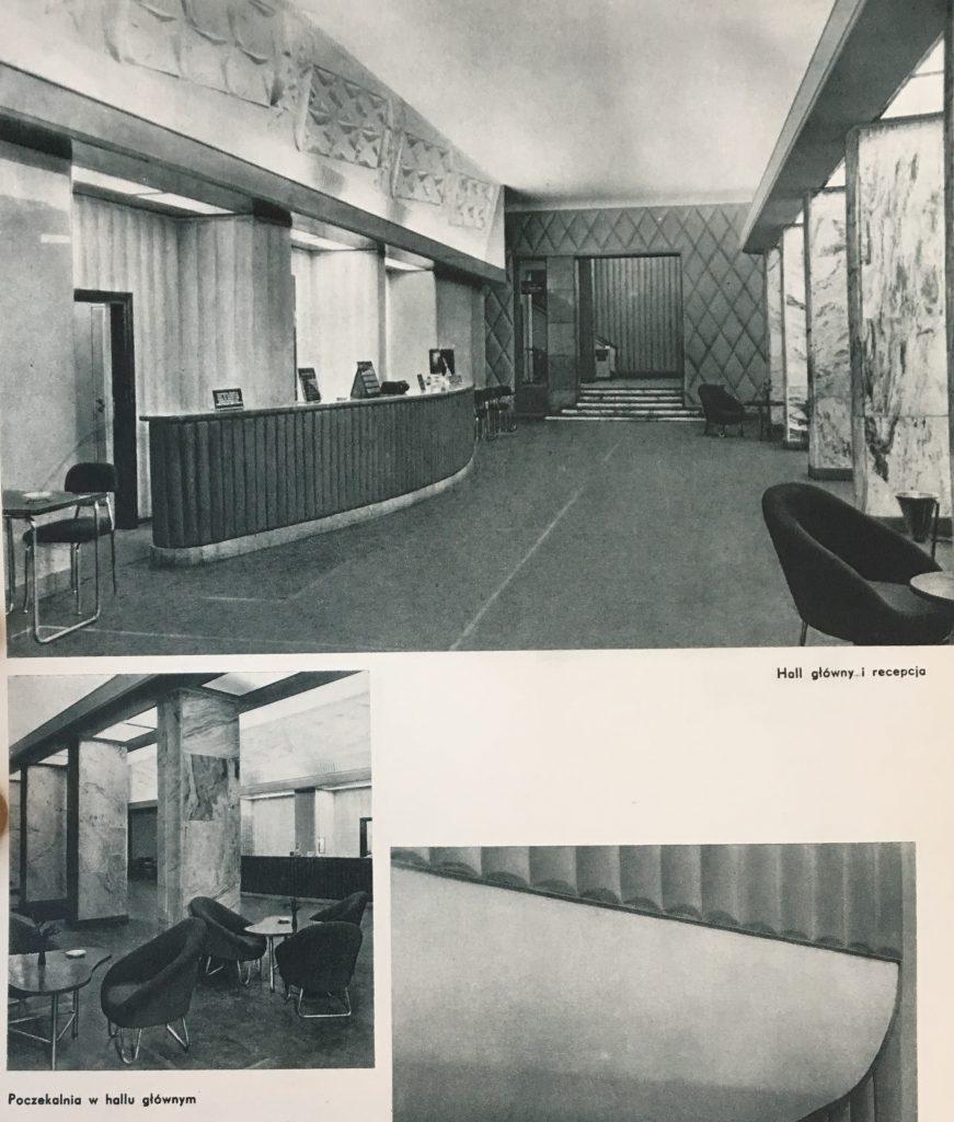 Fotel w Grand hotelu Orbis w Warszawie